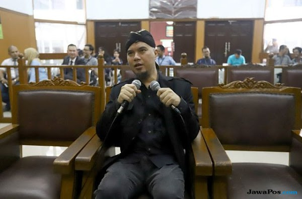 Dituntut 2 Tahun Penjara, Ahmad Dhani Sebut Ini Balas Dendam Ahok