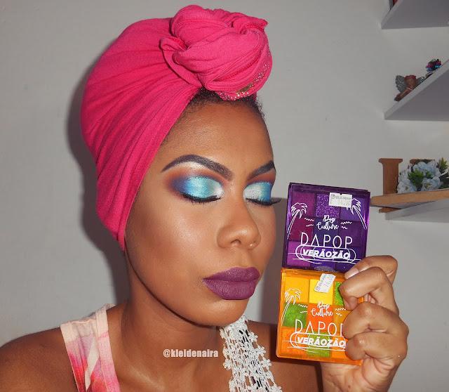 Maquiagem com as Paletas Verãozão da Dapop