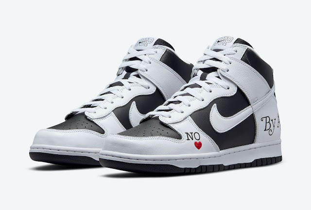 Supreme x Nike SB Dunk High 'By Any Means'