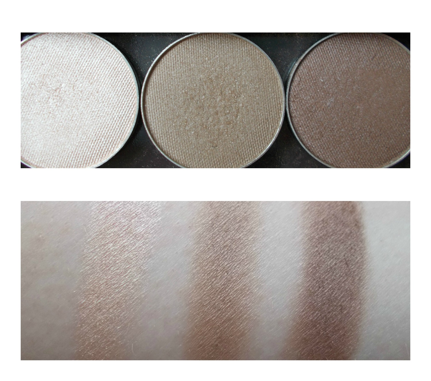 makeup geek homecoming pretentious barcelona beach swatches