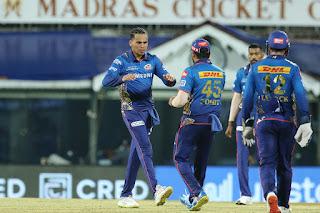 KKR vs MI 5th Match IPL 2021 Highlights