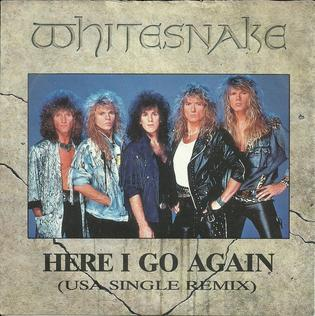"""Το single των Whitesnake """"Here I Go Again"""""""