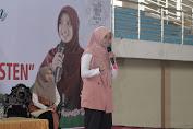 Sherly Anavita Rahmi Tampil Memotivasi Pemuda Lombok Barat