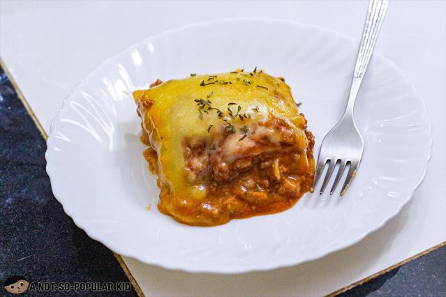 Doña Mila's Special Lasagna
