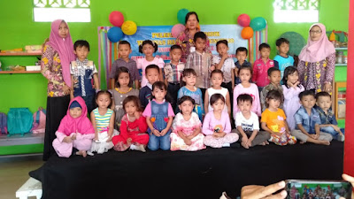 Pelepasan Siswa TK Tunas Harapan Tunjungtejo, Dengan Pentas Menyanyi