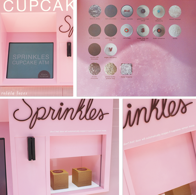 Sprinkles Cupcakes, Cupcake ATM, Sprinkles Cupcakes Review,