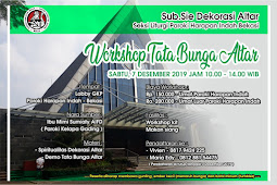 Workshop Tata Bunga Altar