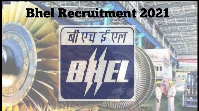 Bhel Apprentice Recruitment 2021 without gate for diploma