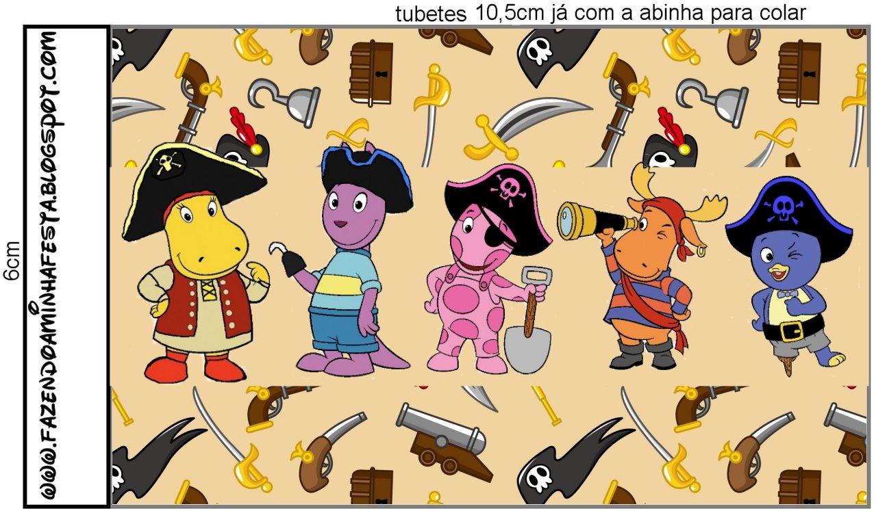 Imprimibles De Backyardigans Piratas 10 Ideas Y Material