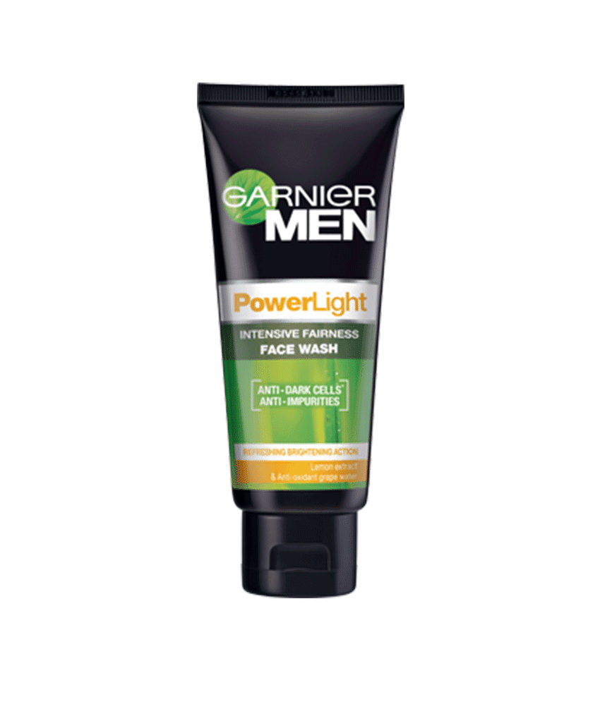 GARNIER MEN POWER LIGHT FACE WASH 100 G