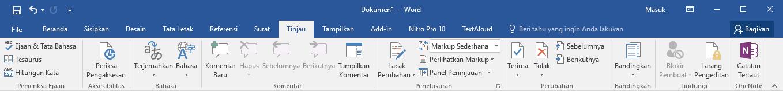3 Tools Penting pada Ms Word 2016 yang jarang digunakan