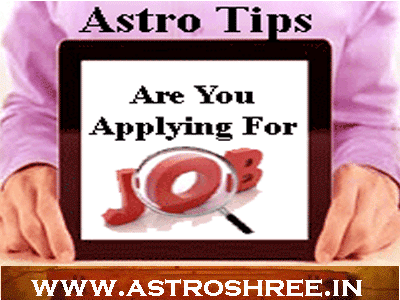 what to as per astrology to get job