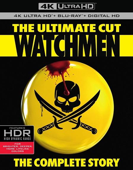 Watchmen: The Ultimate Cut 4K (Los Vigilantes 4K) (2009) 2160p 4K UltraHD HDR BluRay REMUX 79GB mkv Dual Audio Dolby TrueHD 5.1 ch