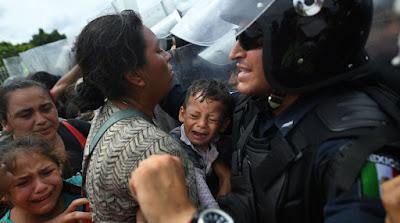 Migrantes. Foto: AFP
