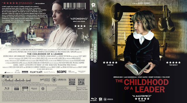 The Childhood of a Leader Bluray Cover