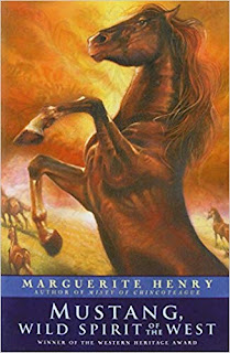 Animal lovers on the books that changed their lives: Mustang, Wild Spirit of the West book cover