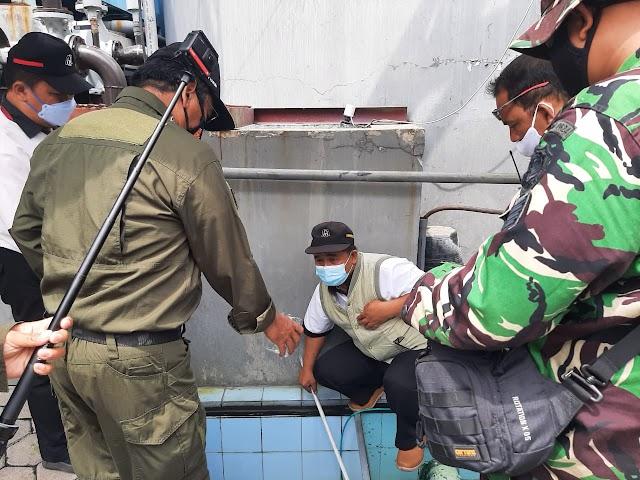 Dansektor 7 Satgas Citarum Melakukan Patroli ke PT. Nagasakti Untuk Mengecek Ipal