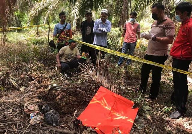 Mayat Bayi Terbungkus Kain Ditemukan Di Muarasabak