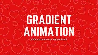gradient text animation