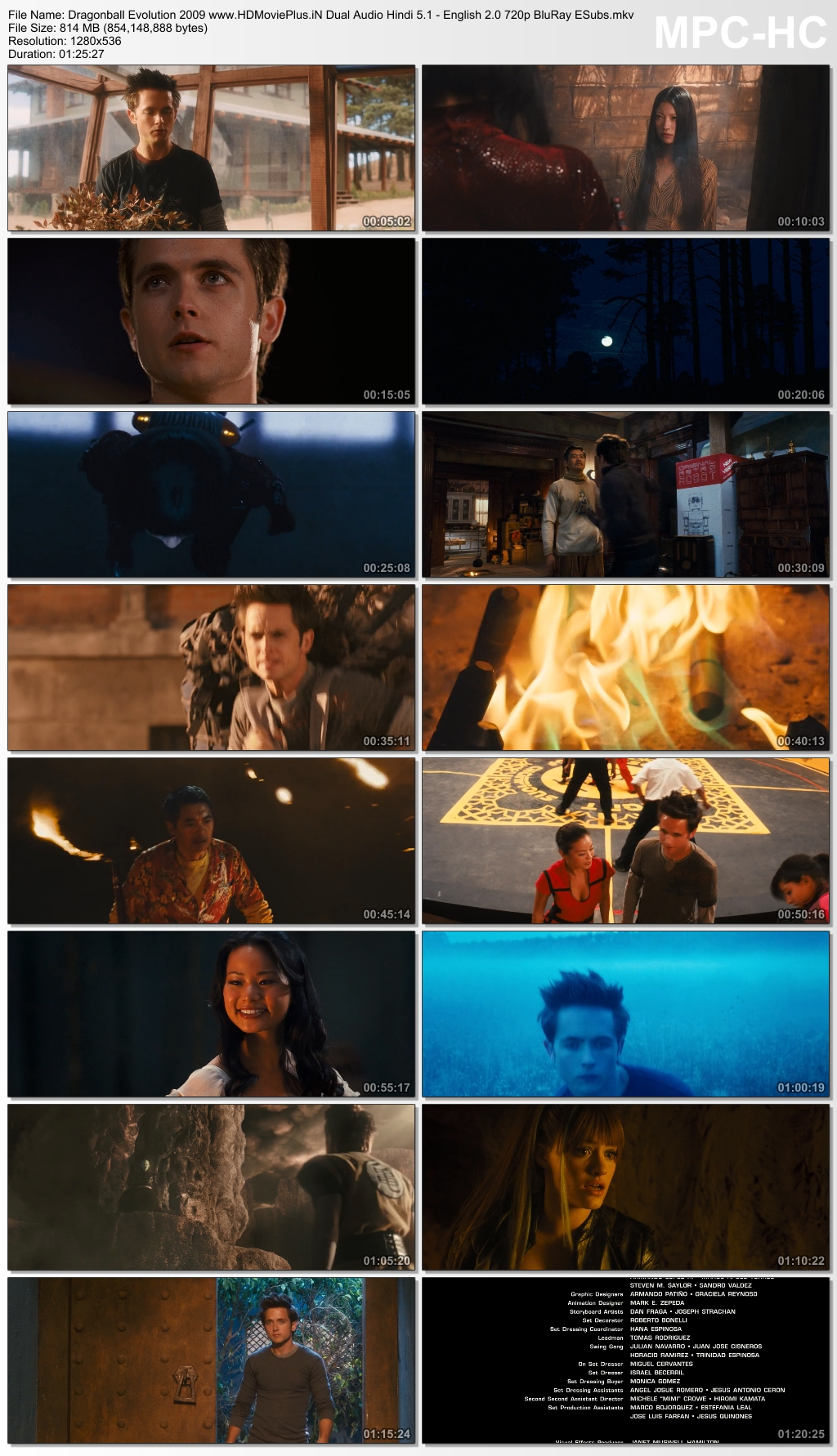 Dragonball Evolution (2009) Dual Audio