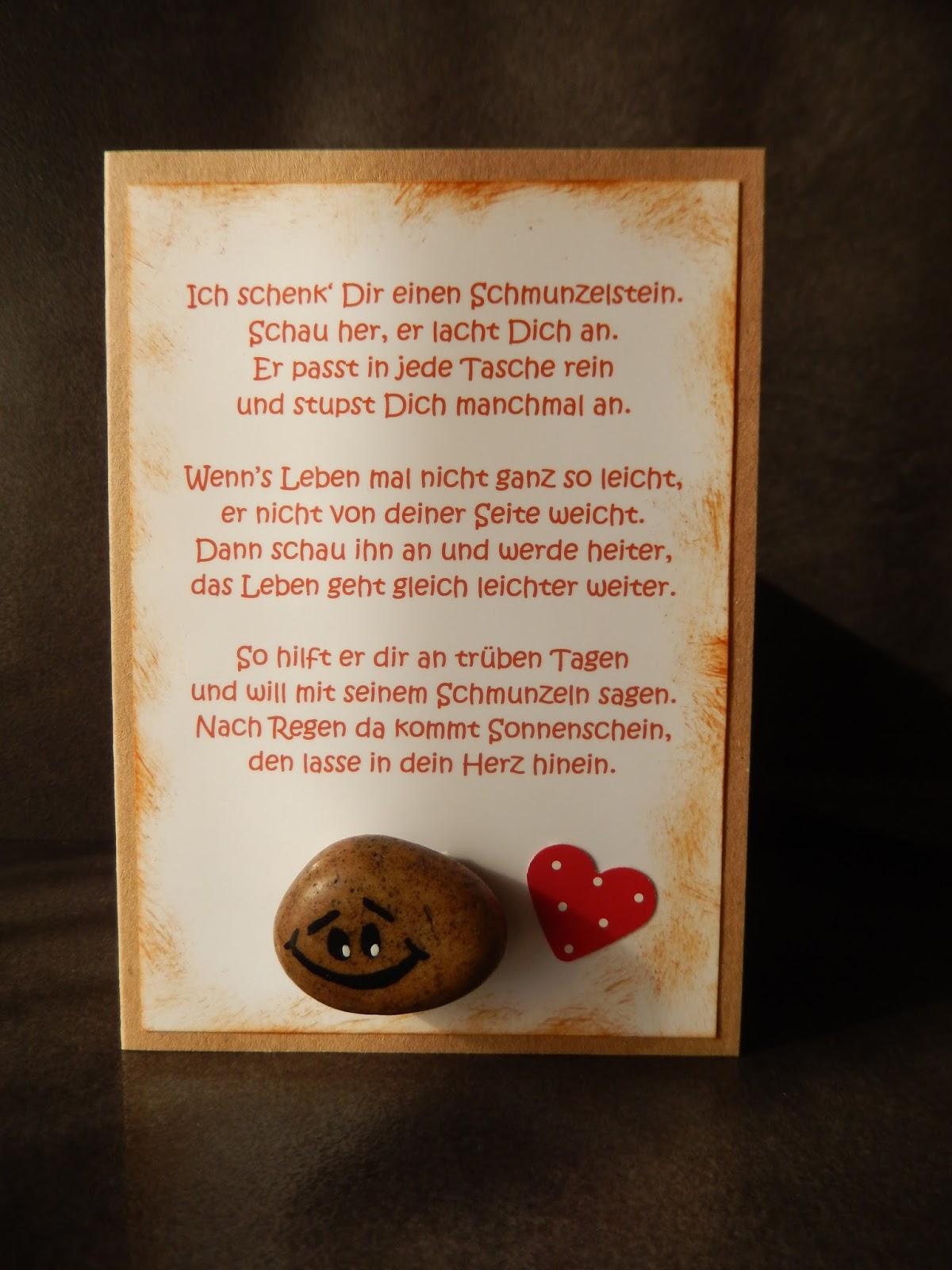 Kartenzauber Und Mehr....: Ich Schenk Dir Einen