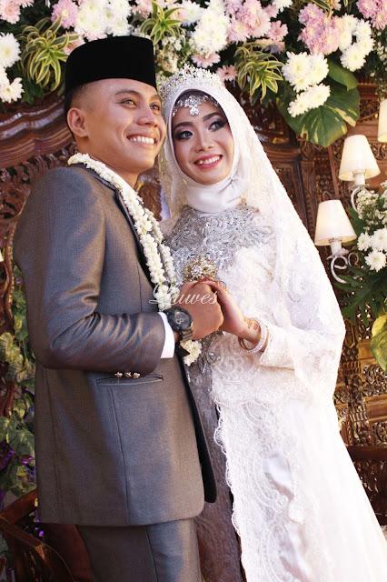 Pernikahan muslimah hijab akad nikah