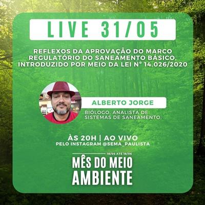 Paulista tem live do Mês do Meio Ambiente este dia 31.05