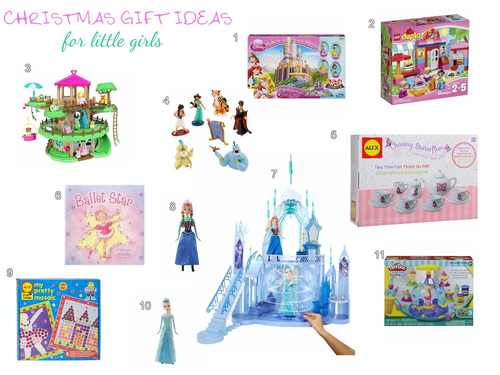 This Happy Life Christmas Gift List for little girls
