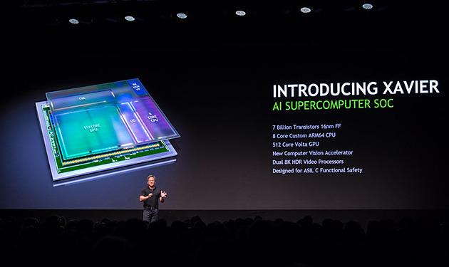 NVIDIA Announces GPU SoC Xavier Volta