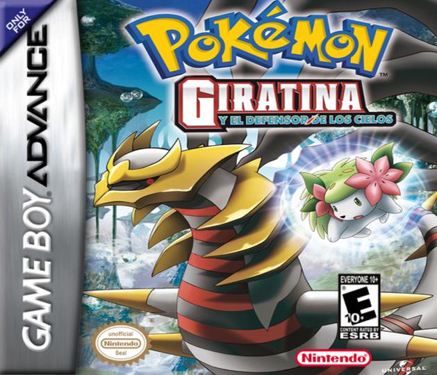 Pokémon Giratina Strikes Back ROM GBA