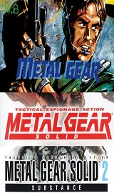 Metal Gear Tri-Pack Metal Gear + Metal Gear Solid/VR + Metal Gear Solid 2 Substance