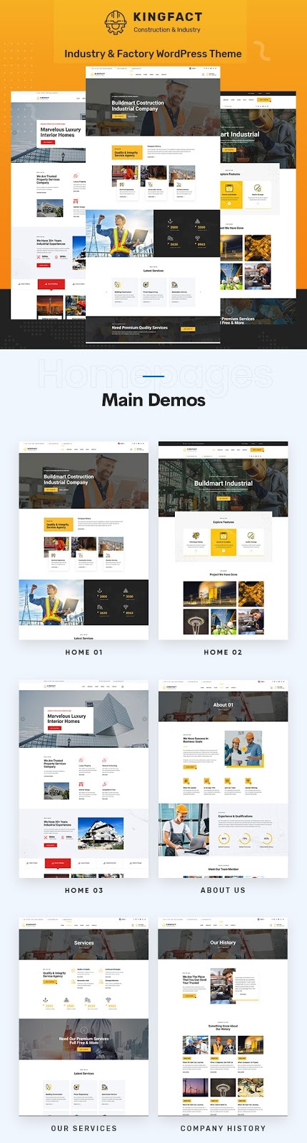 Best Industry & Factory WordPress Template