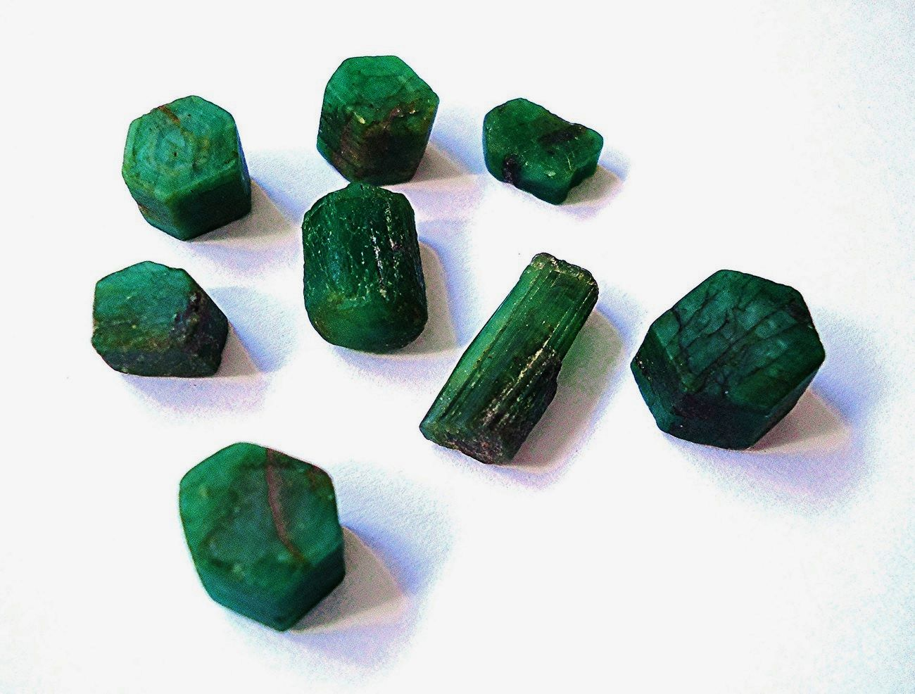 Emeralds • Hiddenite, North Carolina