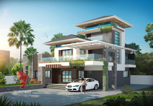 Ultra modern home designs home designs for Ultra modern bungalow designs