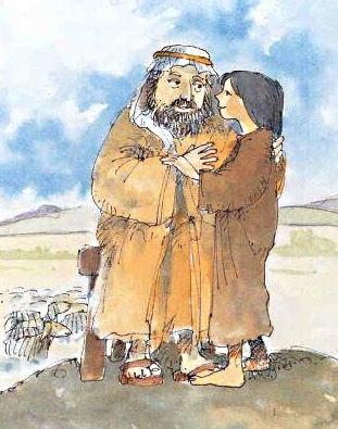 Giuseppe e suo padre Giacobbe