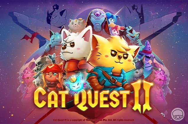 Cat Quest II - ผจญภัยไปในโลกอุ้งเท้าของราชาแมวและราชาหมา เพื่อกอบกู้ดินแดนจากจอมมาร