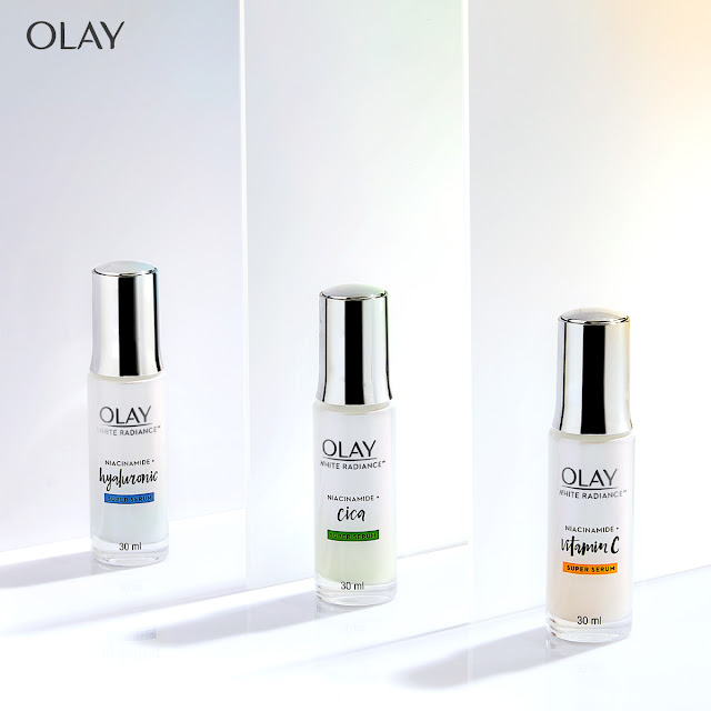Olay Super Serums with Niacinamide, Vitamin C, Hyaluronic Acid, and Cica is Here!
