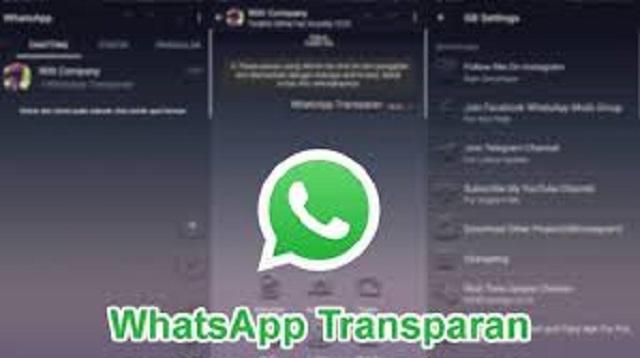 Cara Membuat WA Transparan Tanpa Aplikasi