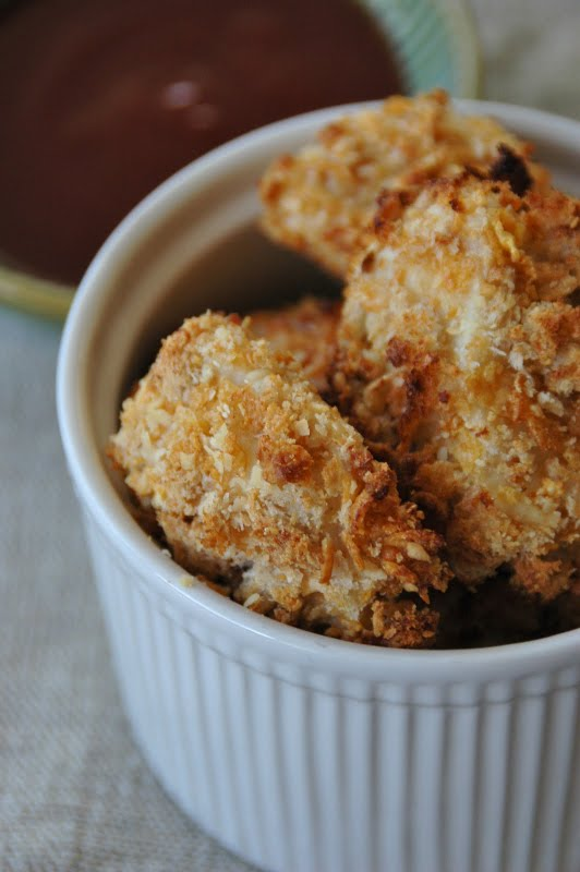 Baked Homemade Chicken Nuggets