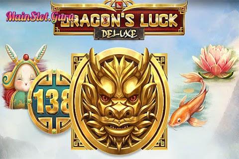 Main Gratis Slot Dragons Luck Deluxe (Red Tiger Gaming)   96.00% RTP