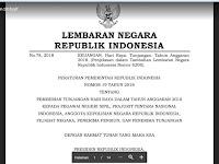 PNS dan Non PNS Wajib Baca !! Inilah PP Tentang THR dan Gaji 13 Tahun 2018