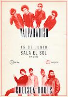 Valparadiso y Chelsea Boots en Sala el Sol