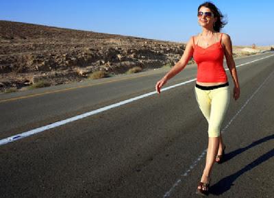 Tips Efektif Menurunkan Berat Badan Dengan Berjalan kaki