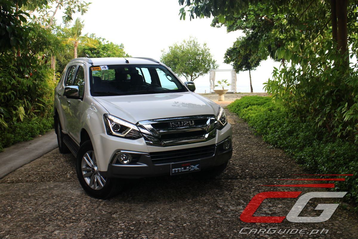 First Drive: 2018 Isuzu mu-X 4x2 LS-A Blue Power ...