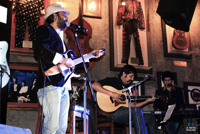 Among Jamir (Bassist) and Agnee Band performance at Hard Rock Cafe Pune