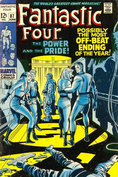 Fantastic Four 87 Power and Pride