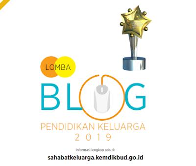 Lomba Blog Pendidikan Keluarga Tahun 2019, Total Hadiah 42 Juta