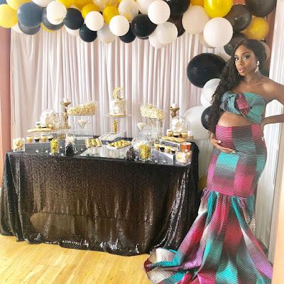 Maria Okan pregnant for Olamide