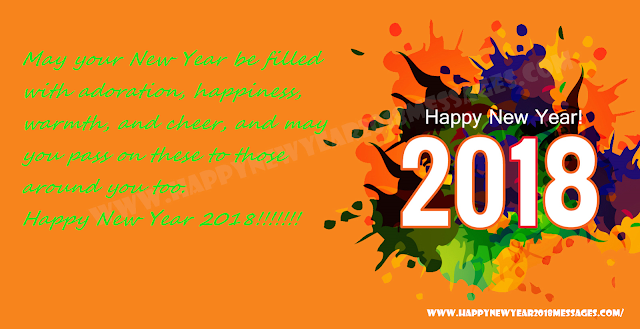 wishes for new year 2018