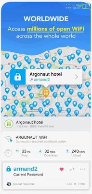 تحميل برنامج wifi map للاندرويد